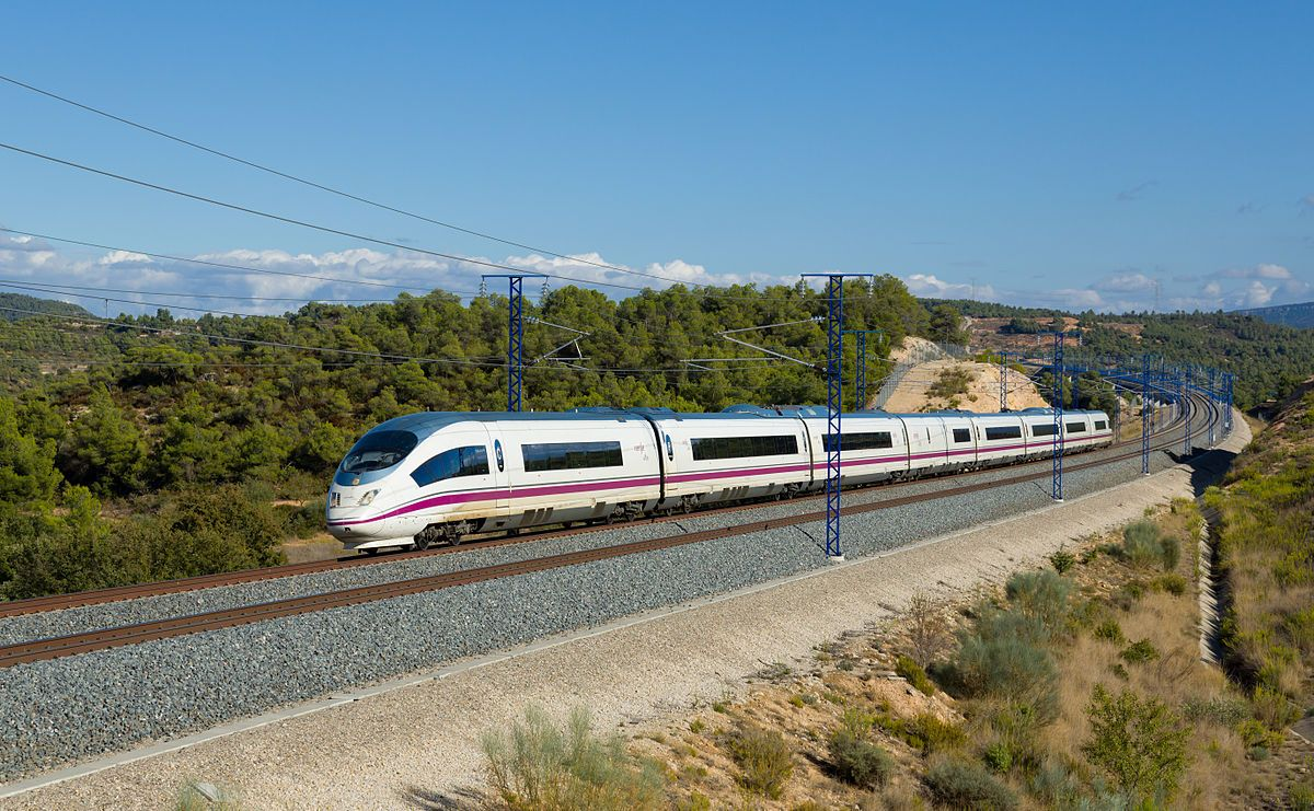 Axarquia To Be Left A Poor Cousin If Junta De Andalucia Leaves It Off Ave Railway Plans Olive Press News Spain High Speed Rail Train Speed Training
