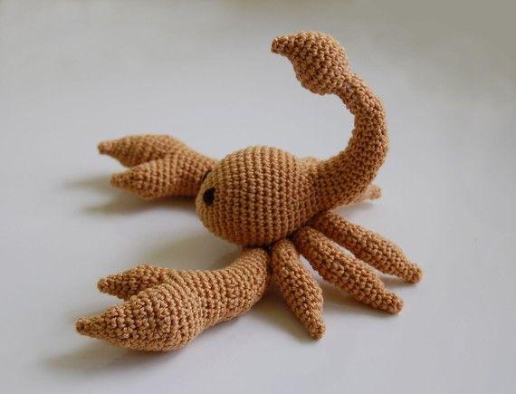 Pattern Scorpion Pdf Amigurumi Pinterest Raupe Häkelideen