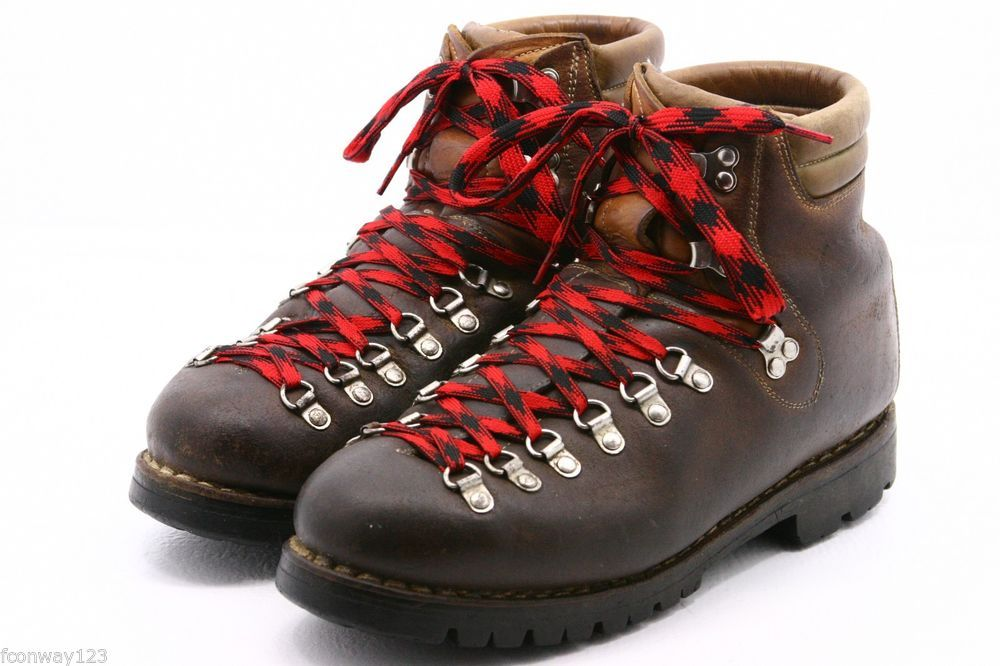 e769c97c00a ASOLO SPORT Vintage Mens Boots Size 10 leather mountaineering hiking ...