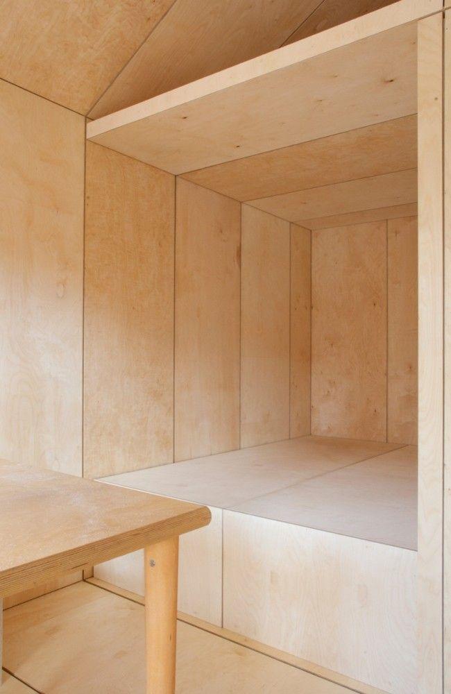 Liina Transitional Shelter. #plywood