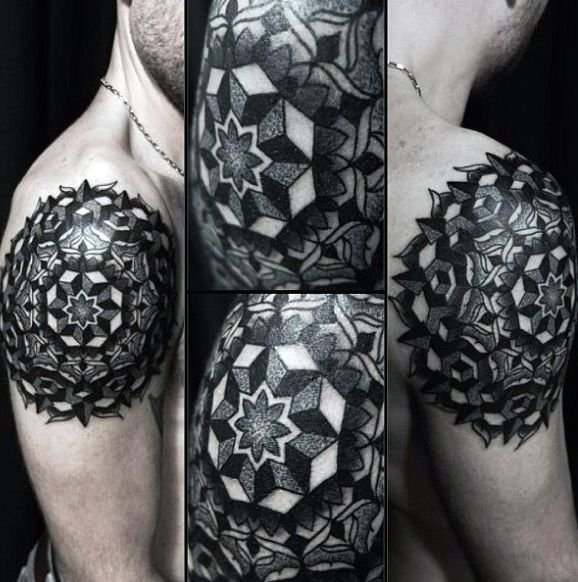 7463c06ea Top 100 Best Sacred Geometry Tattoo Designs For Men | tats | Tattoo ...