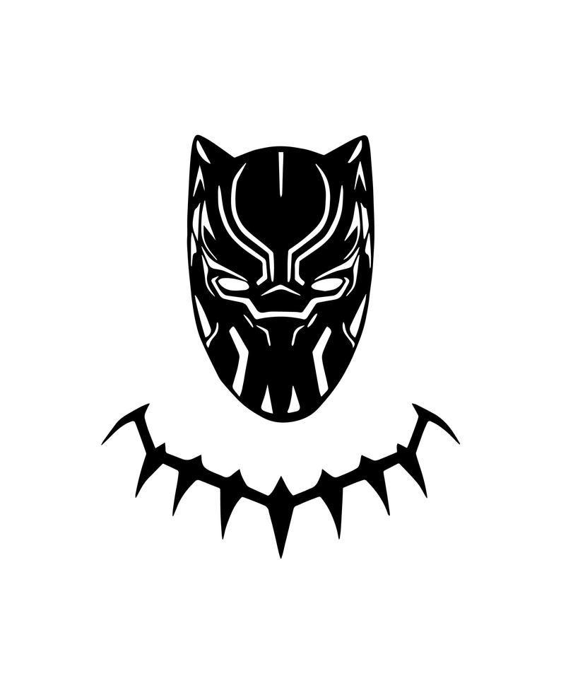 Black Panther Svg Wakanda Svg Marvel Black Panther Svg Etsy Black Panther Images Black Panther Tattoo Black Panther Marvel