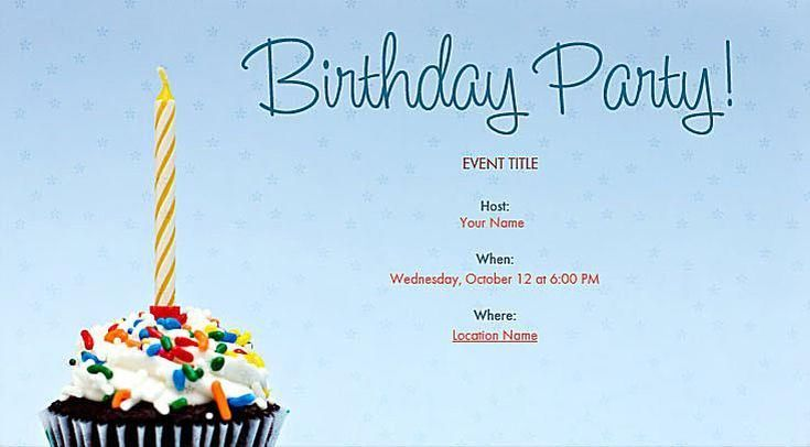 great looking online birthday invitations you can send for free