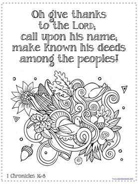 Thanksgiving bible verse coloring (2) sunday school coloring Olaf Coloring Pages give thanks to the lord coloring page thanksgiving bible verse coloring sheets