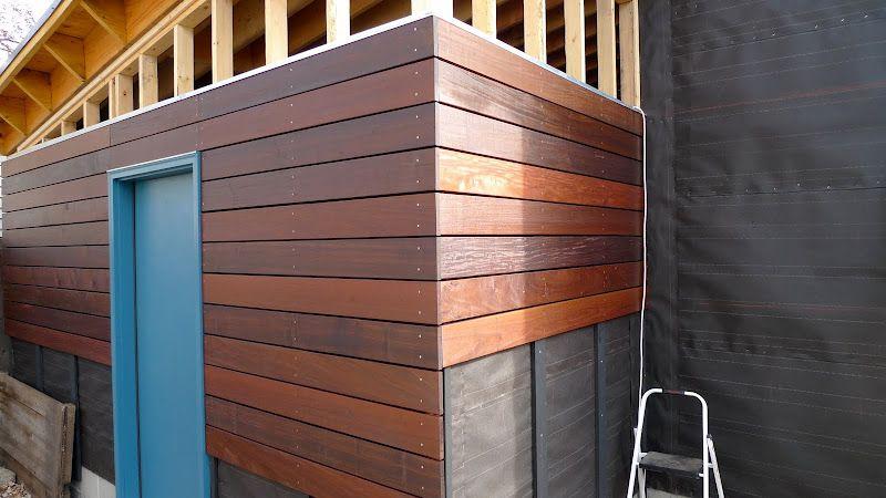 Garage Build Modern Shed Roof Rain Screen Siding The Garage Journal Board Wood Siding Exterior Modern Siding Installing Wood Siding