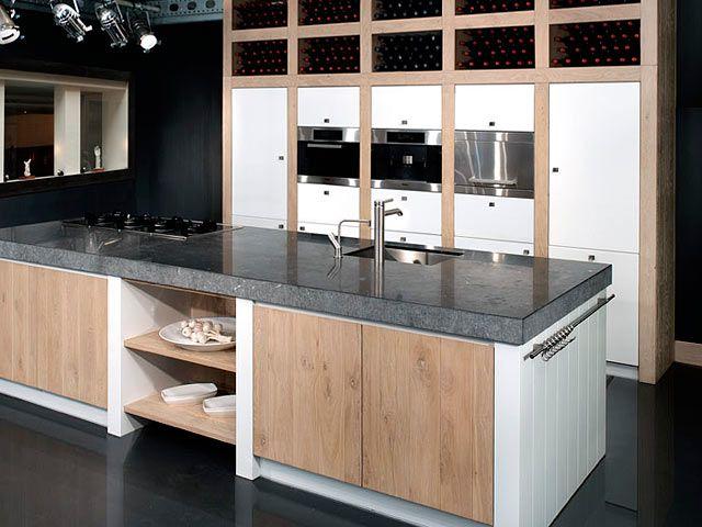 Kookeiland Keuken Houten : Afbeeldingsresultaat voor vierkant kookeiland keuken pinterest