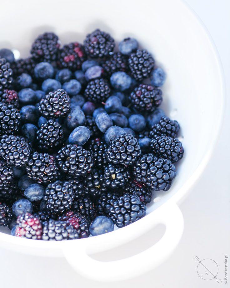 Blackberries, blueberries