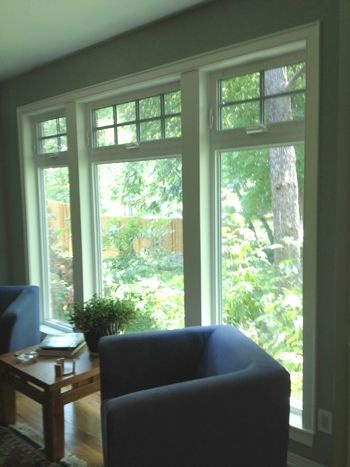 Vinyl Replacement Windows With Simulated Divided Lite