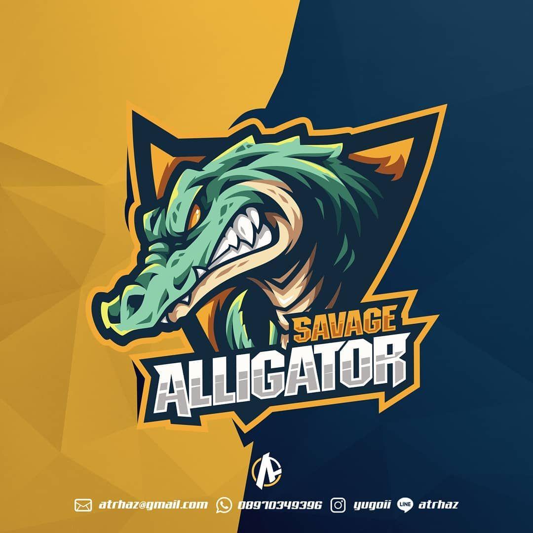 Alligator Logos Quiz Savage Alligator by yu...