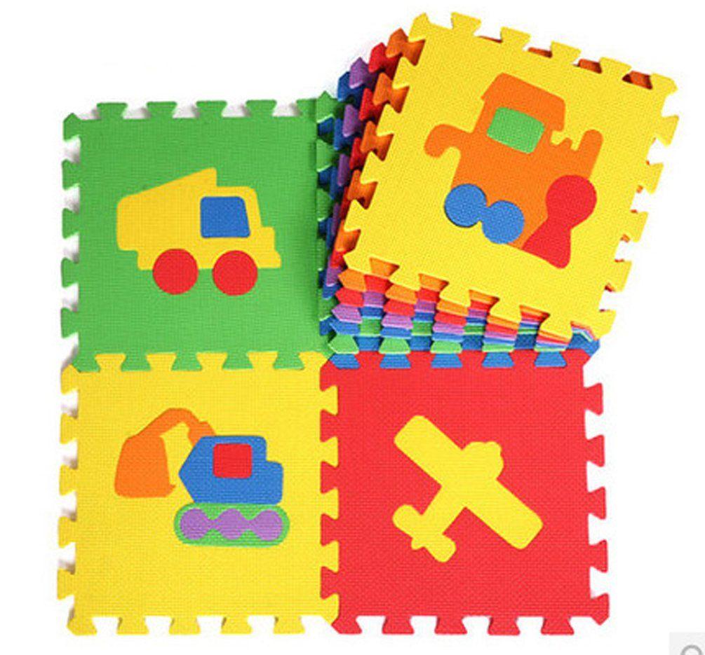 10pcs 3030cm1cm interlocking foam playmat pop out puzzle play 10pcs 3030cm1cm interlocking foam playmat pop out puzzle play mat jigsaw floor dailygadgetfo Images