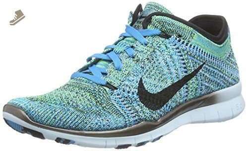 f5e8da5d2da9 Nike Womens Free TR Flyknit Blue Lagoon Black 718785-402 (SIZE  6.5) - Nike  sneakers for women ( Amazon Partner-Link)