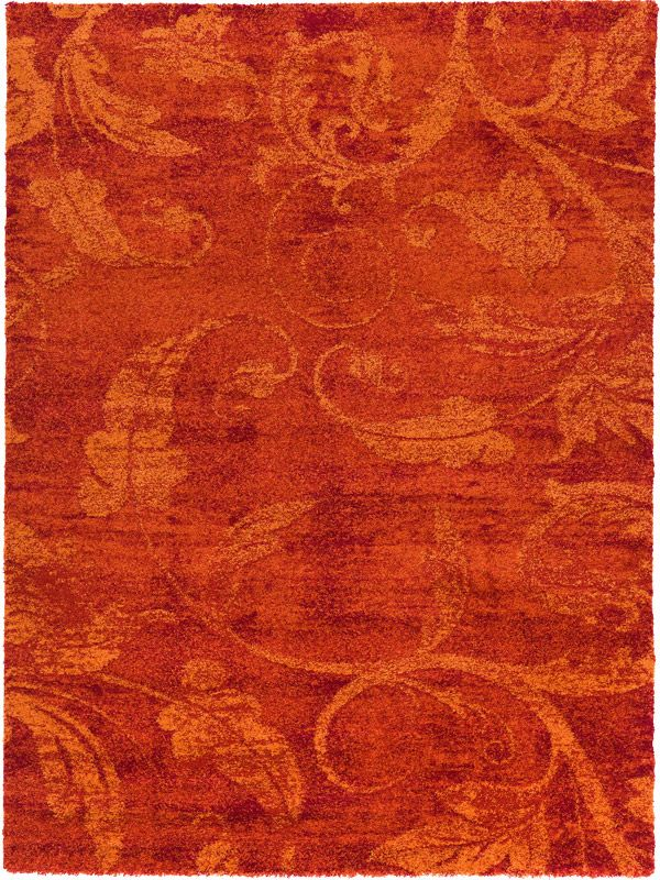 benuta Designer Tappeto GABEH Red background