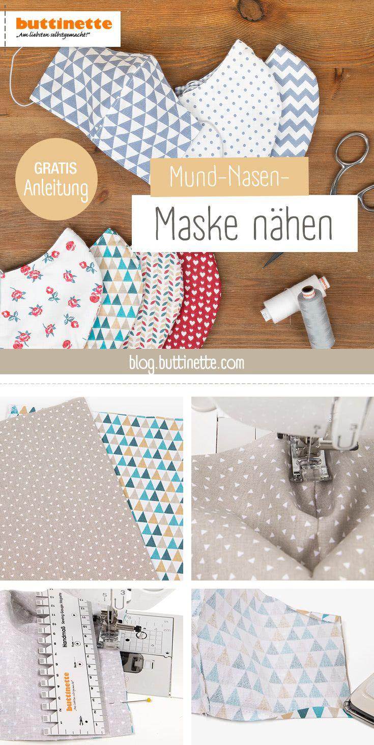 Gratis Anleitung Mund Nasen Maske Nahen In 2020 Masken Anleitungen Babymutze Stricken Anleitung