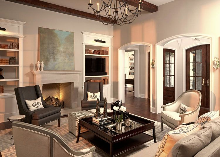 2016 DHDA: Interiors - Traditional Living Room/Great Room (1st Place ...