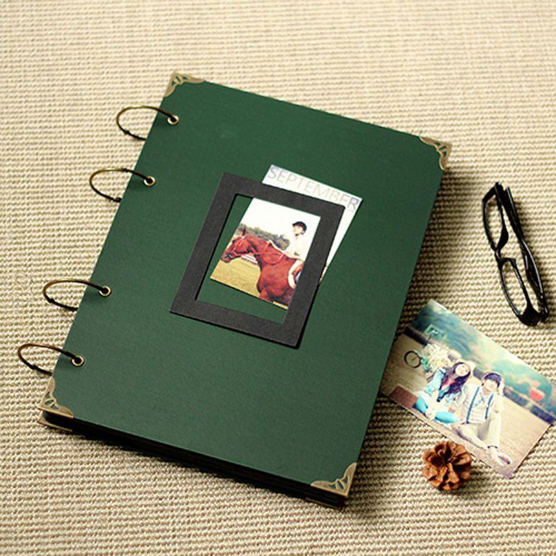 Barato Verde Dar diy photo album / foto album scrapbook ...