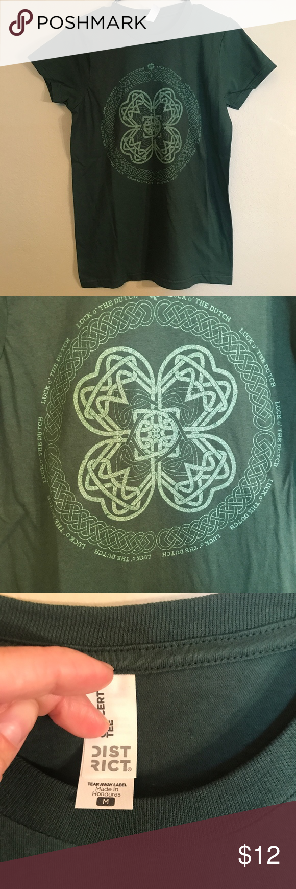 Green Dutch Bros Luck Of The Dutch Tee Women's medium, excellent condition. Dutch Bros Tops Tees - Short Sleeve #dutchbros Green Dutch Bros Luck Of The Dutch Tee Women's medium, excellent condition. Dutch Bros Tops Tees - Short Sleeve #dutchbros