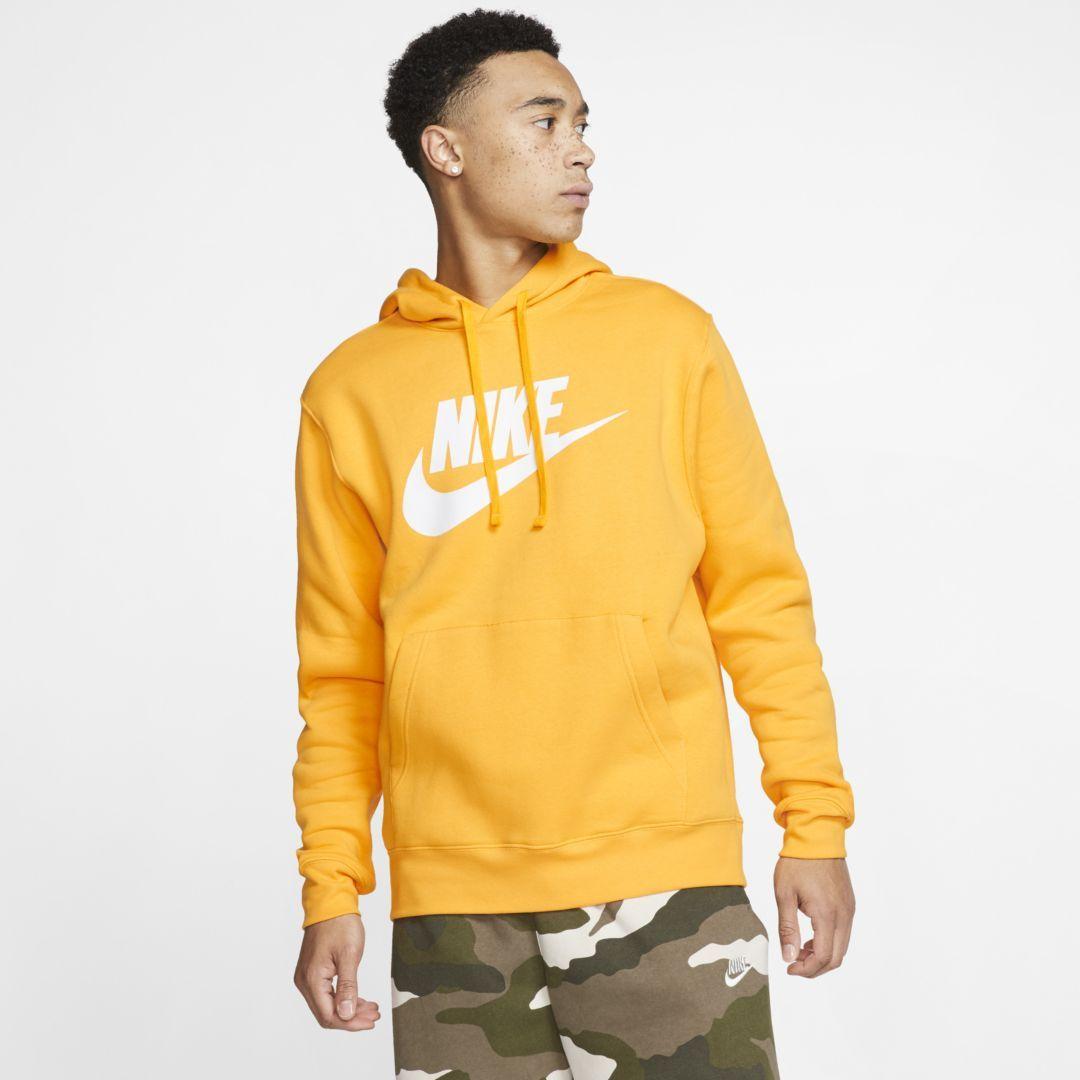 Nike Sportswear Club Fleece Men S Graphic Pullover Hoodie Nike Com Hoodies Pullover Hoodie Nike Sportswear [ 1080 x 1080 Pixel ]