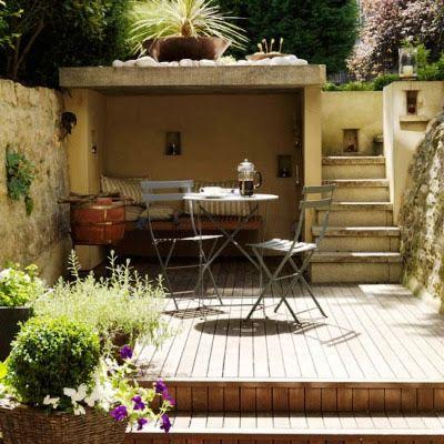 Ideas Decoracion De Jardines Patio Terraza Zen Jardines