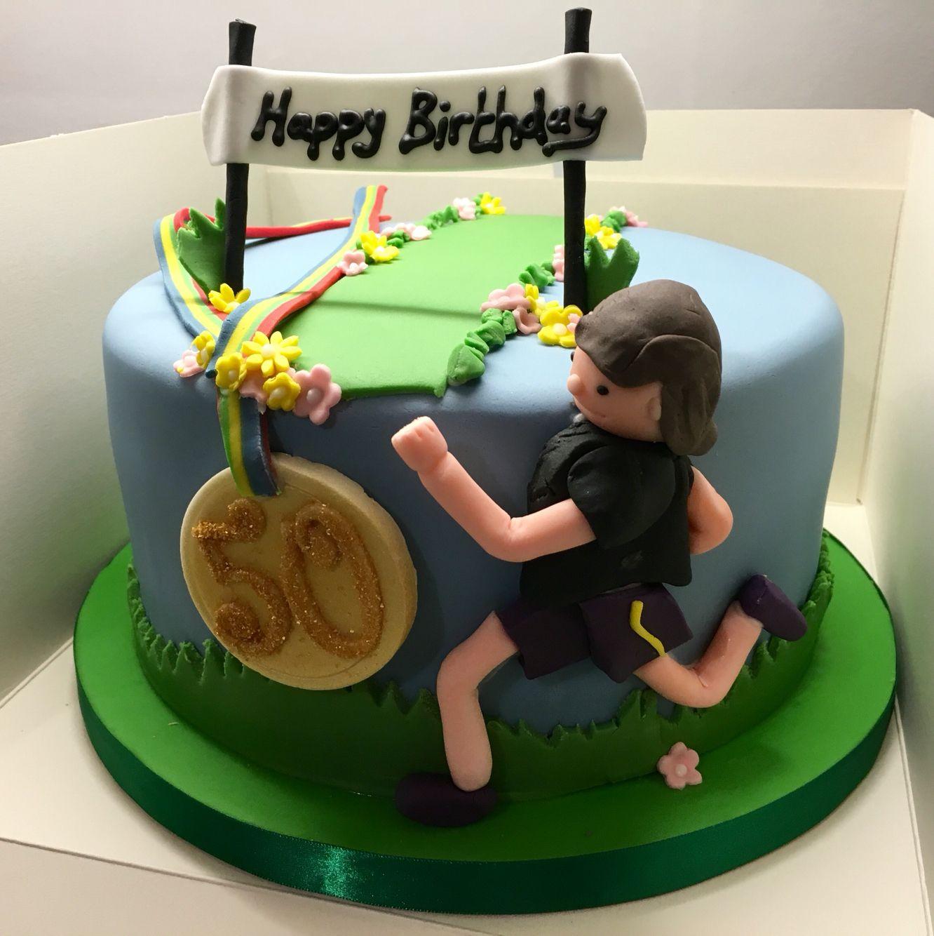 Cake Decorating Ideas Runners : Runner birthday cake Cakes Pinterest Runners ...