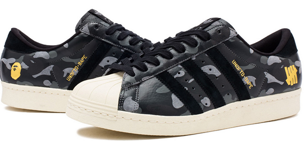 Undefeated, BAPE, and adidas Are Back With Two More