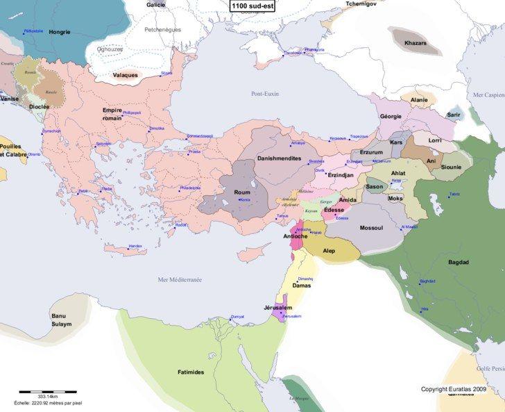 Carte Europe Du Sud Est.Carte Montrant L Europe En 1100 Sud Est Maps Pinterest Europa