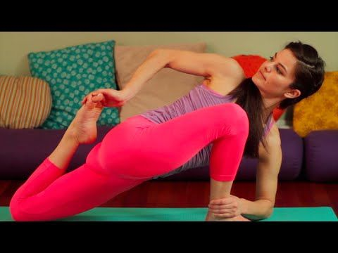40 Minute Yoga Challenging Vinyasa Yoga Class - A Little Bit