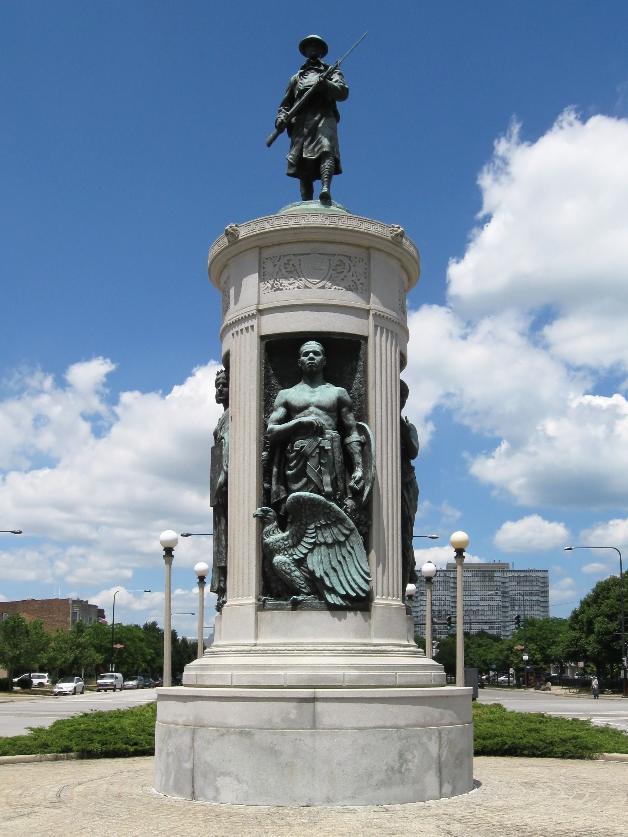 Victory Monument is one of 9 Chicago Landmarks and 6 ...