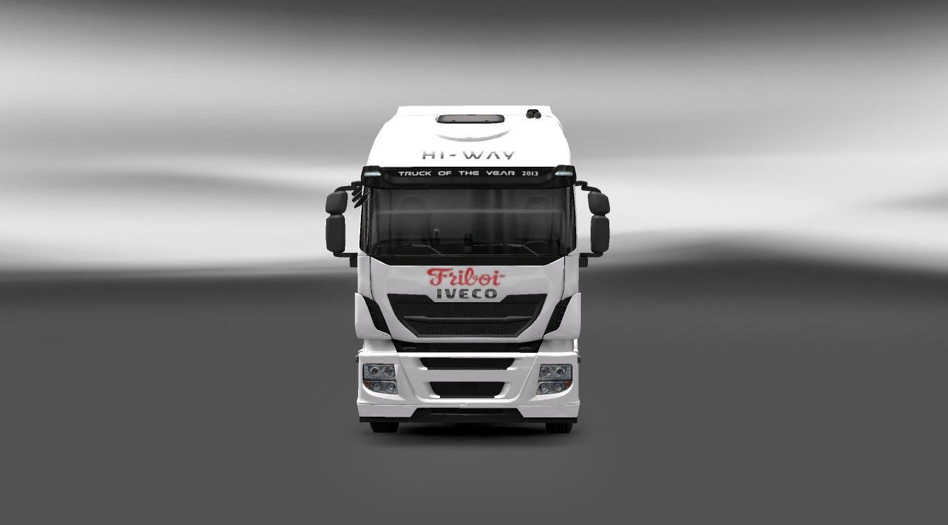 Skin - FriBoi Iveco Hi-Way Para V.1.9.X By: Cristian dos Santos | Blog Euro Truck 2