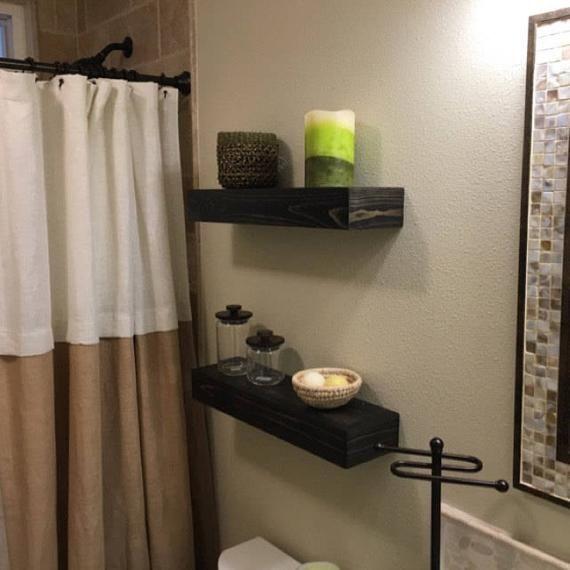 Floating Shelves Bathroom Shelf
