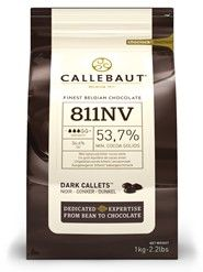 Chocolate - Dark Semi-Sweet Callets (Chips) - 811NV - Callebaut