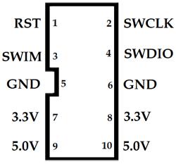 ST-LINK V2 Pinout | stm32 in 2019 | Programming, Coding