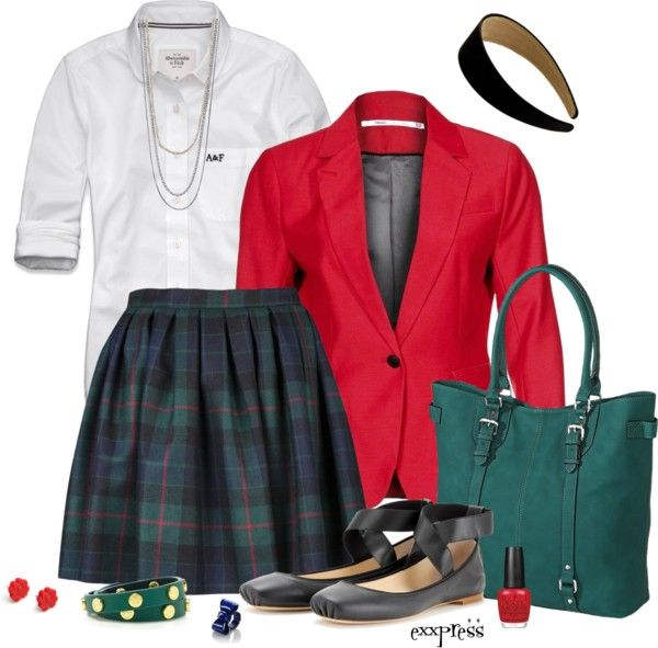 """""""Contest: Private School Individuality"""" by exxpress on Polyvore"""