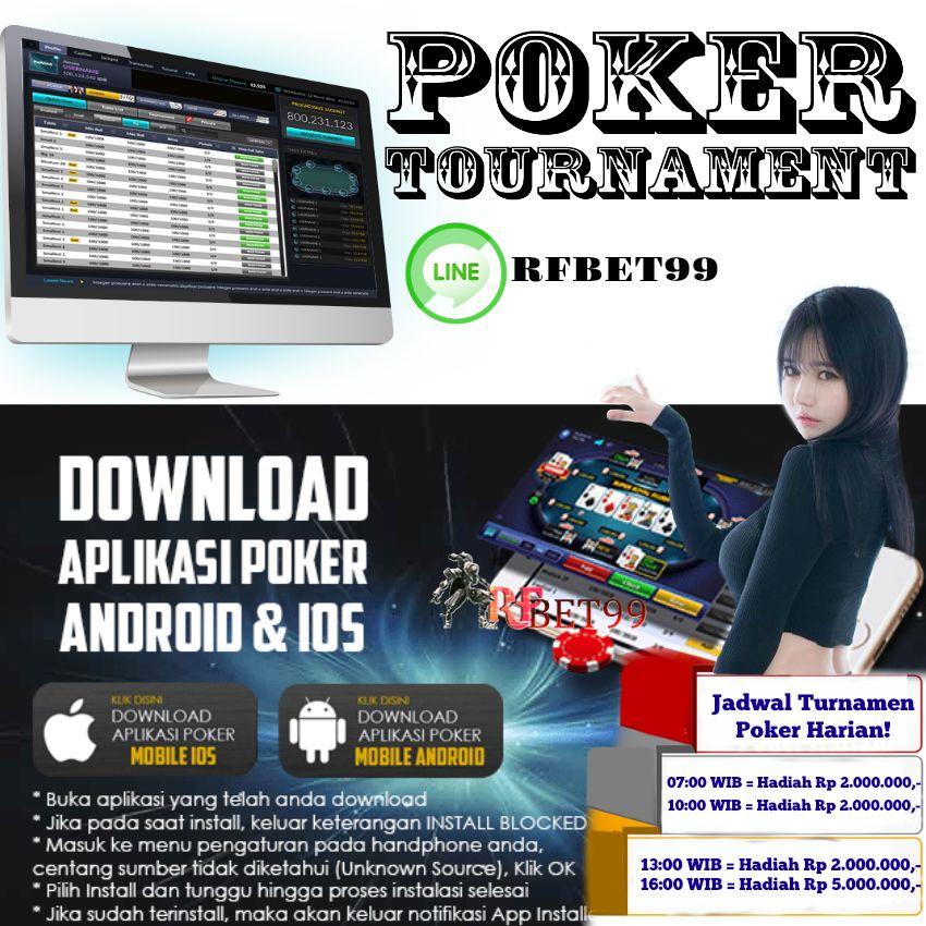 Jadwal Turnamen Poker Harian! 07:00 WIB = Hadiah Rp 2.000 ...