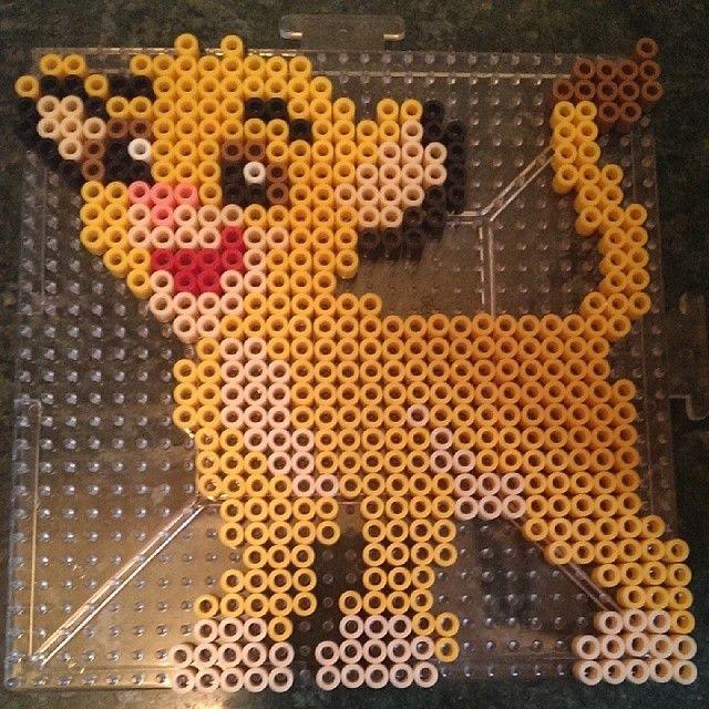 Simba The Lion King perler beads by megacloverx