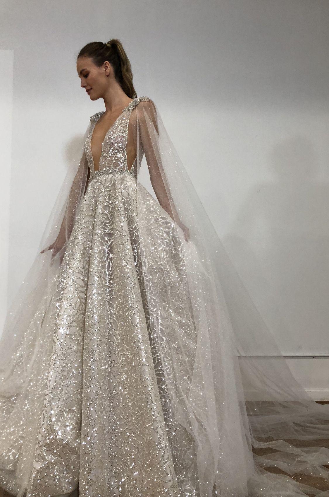 Berta Sparkle On Your Day Sparkle Wedding Dress Glittery Wedding Dress Wedding Dresses [ 1697 x 1125 Pixel ]