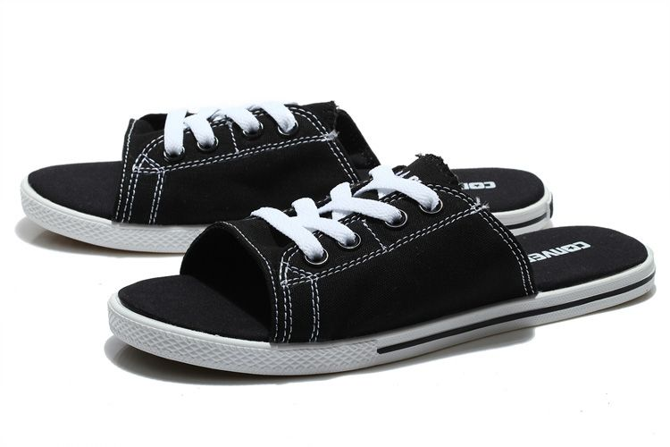 Black Converse Cutaway EVO Summer Chuck Taylor All Star Slippers  converse   shoes d119d9a54
