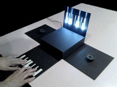 ¡Piano de papel!