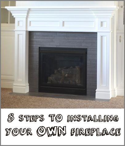 Installing Gas Fireplace In Basement Brick