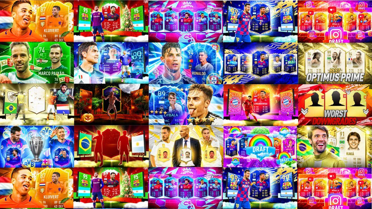 20 Thumbnail Templates Fifa 20 Fully Editable Fifa 20 Fifa Templates