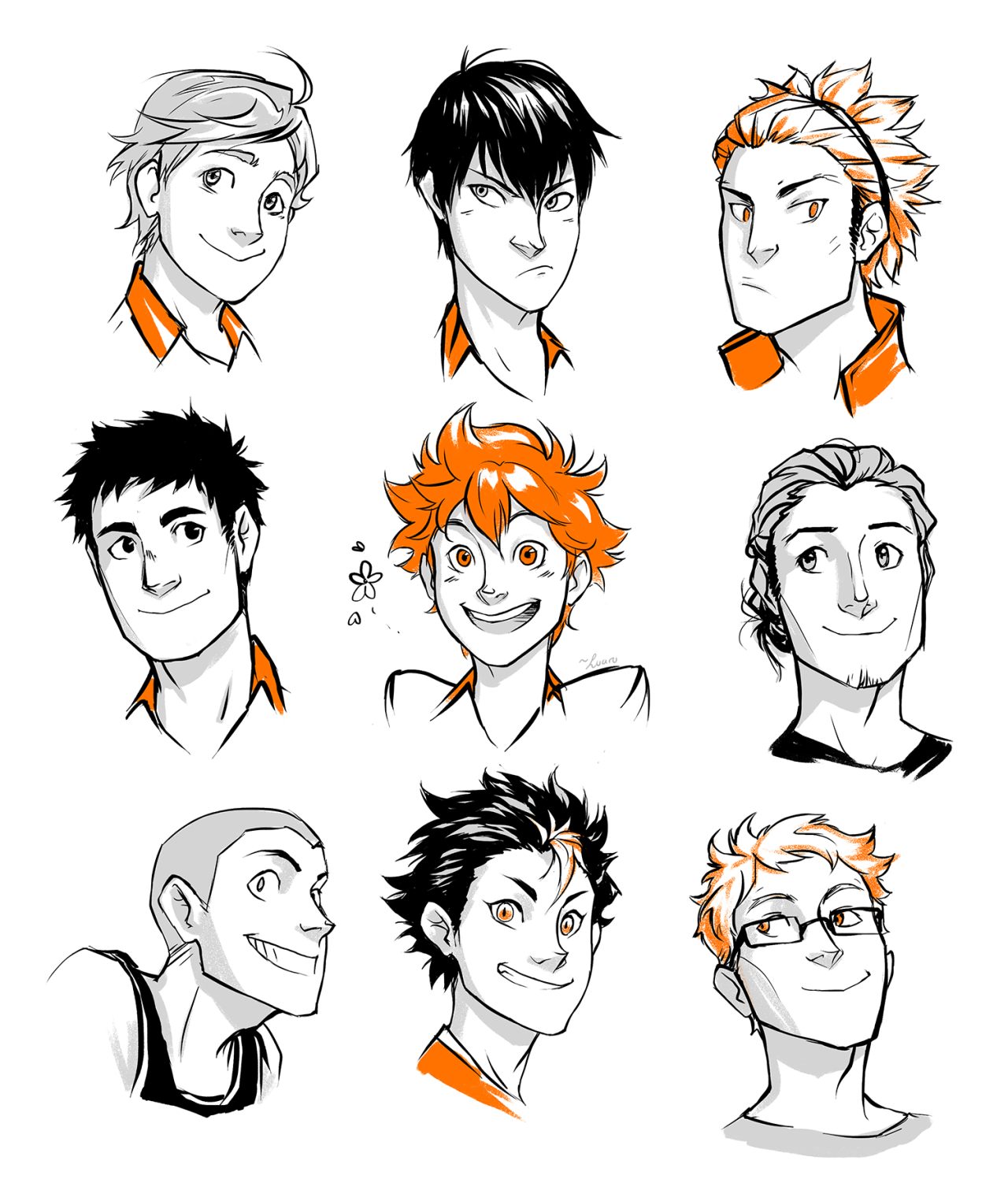 Luaru Woops Sold My Soul To Another Sports Anime Help It S Too Cute I Can T Stop Haikyuu Anime Haikyuu Fanart Sports Anime