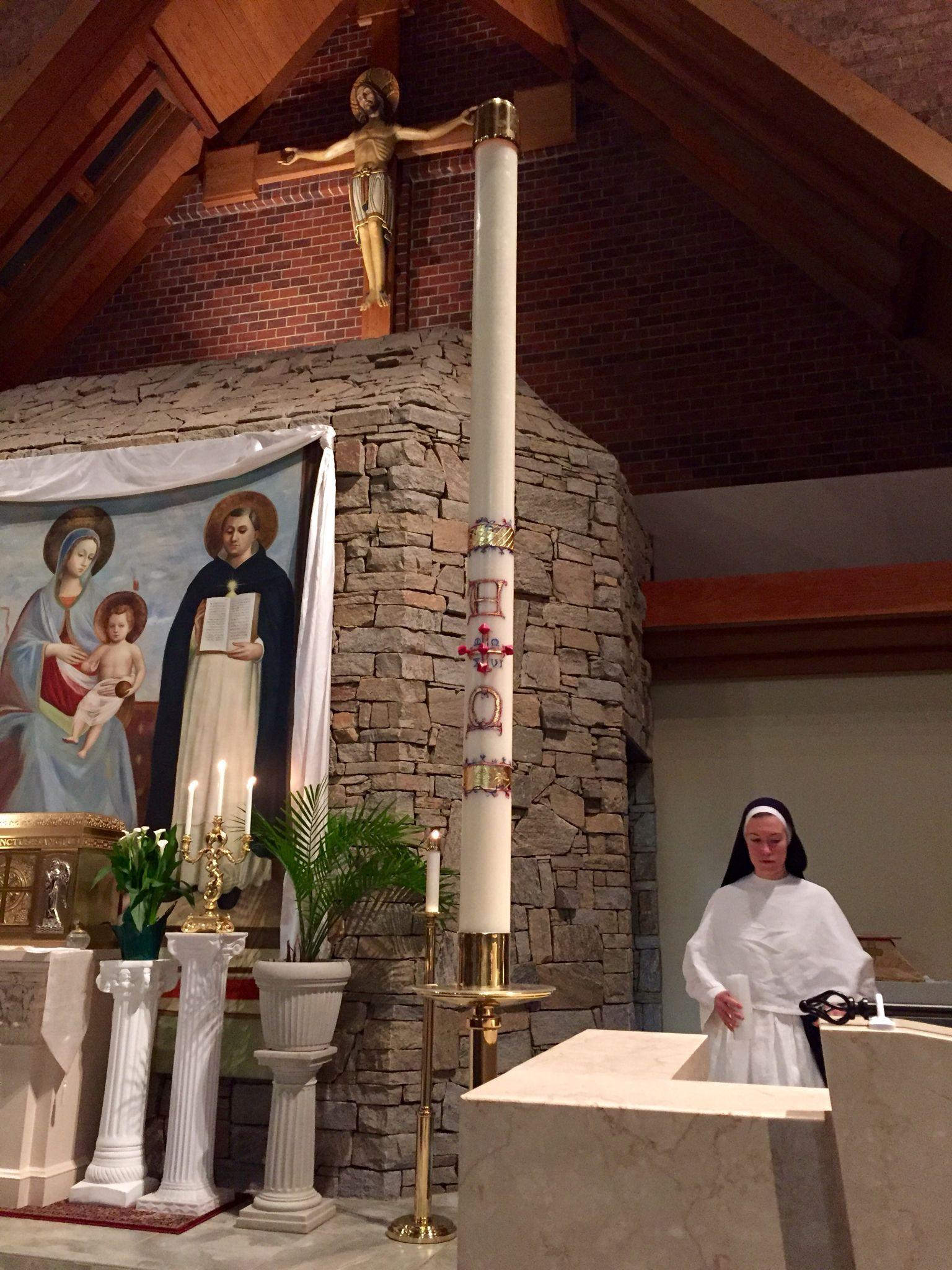 2016 Paschal Candle St Thomas Aquinas Catholic Church