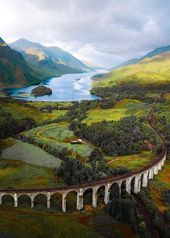 This looks like a fairy tale but its realGlenfinnan Viaduct Scotland  by  This looks like a fairy tale but its realGlenfinnan Viaduct Scotland  by