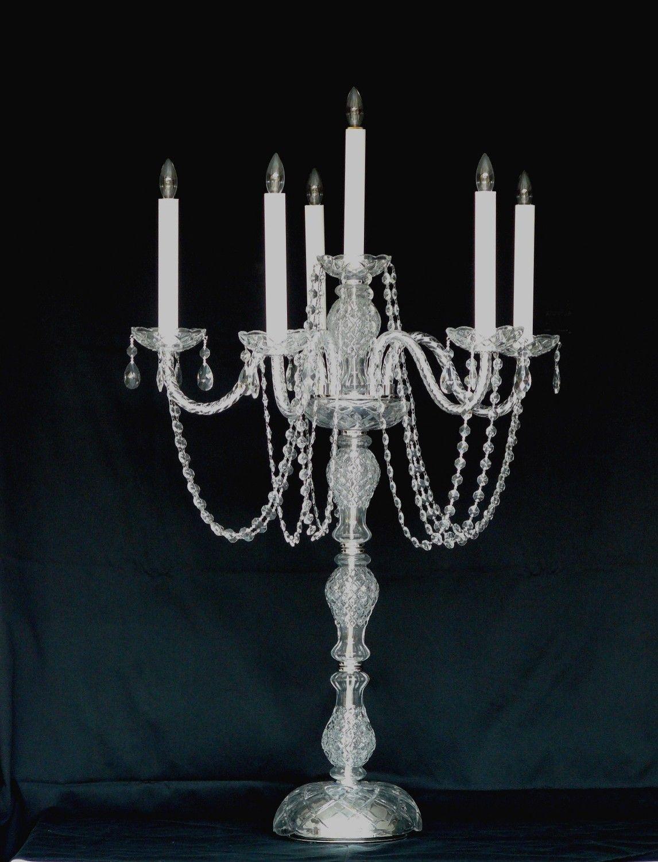 South FL brides to share candelabras wedding decor crystal