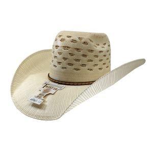 4f916d5ca075b Twister Ivory Tan Bangora Straw Cowboy Hat (4 1 2