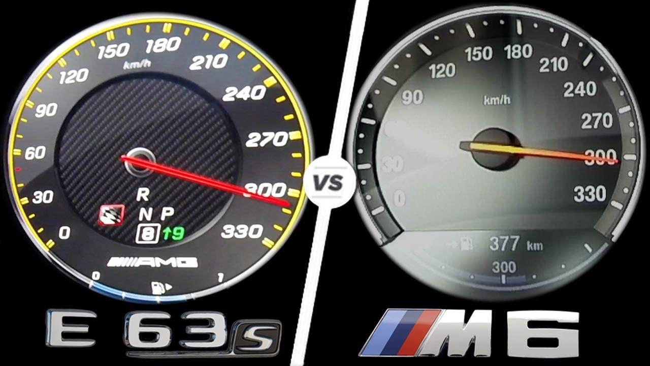 Mercedes E63 Amg 2017 Vs Bmw M6 2017 Acceleration Top Speed 0 300km