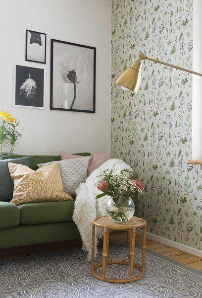 Für mehr Farbe in der Wohnung Blaue, grüne und gelbe Sofas