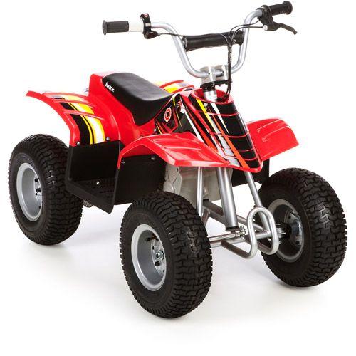 razor dirt quad red