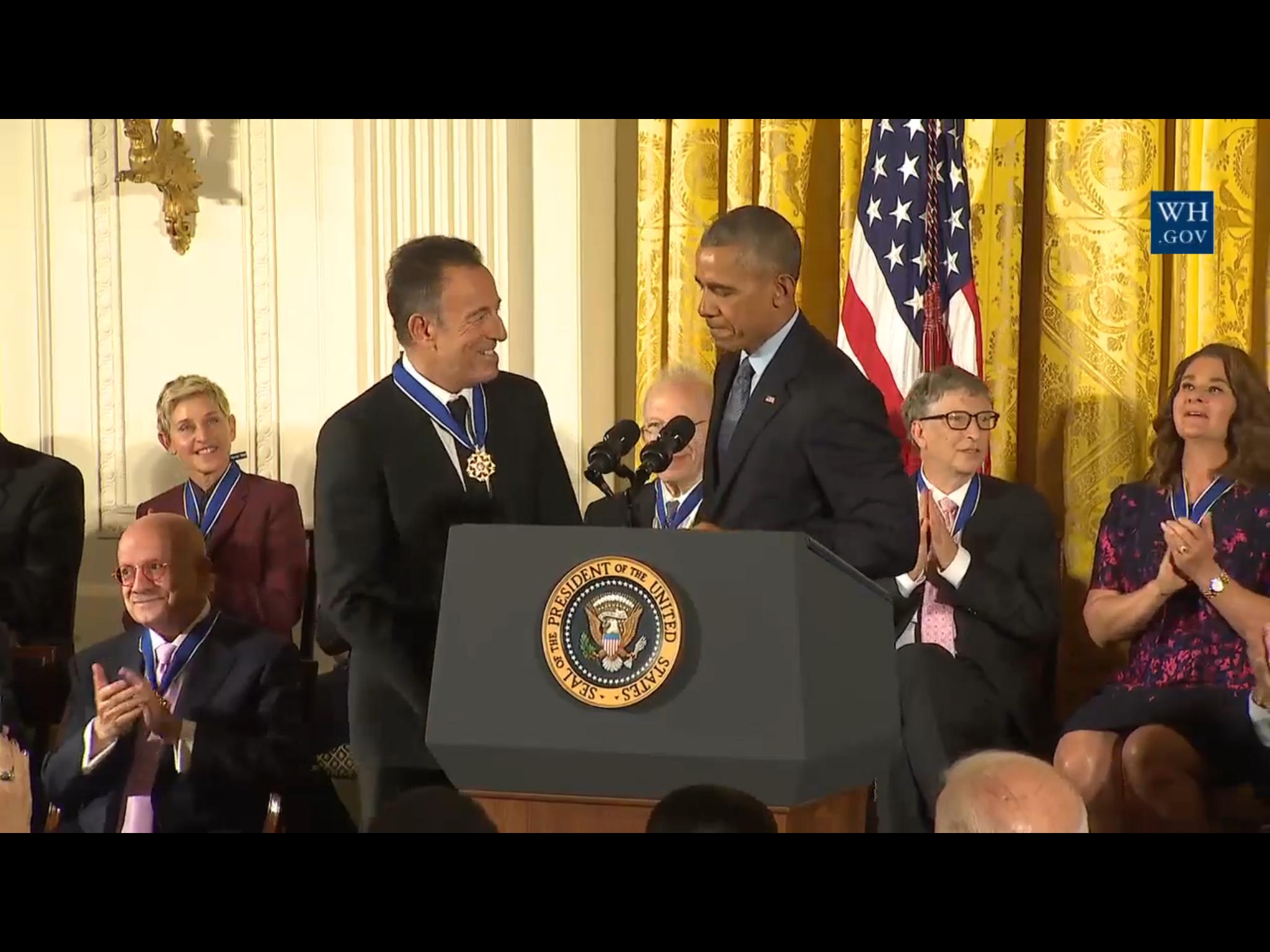 November 22 2016 Presidential Medal Of Freedom