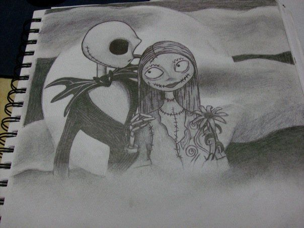 Jack And Sally By Mpope999 Deviantart Com On Deviantar Possible