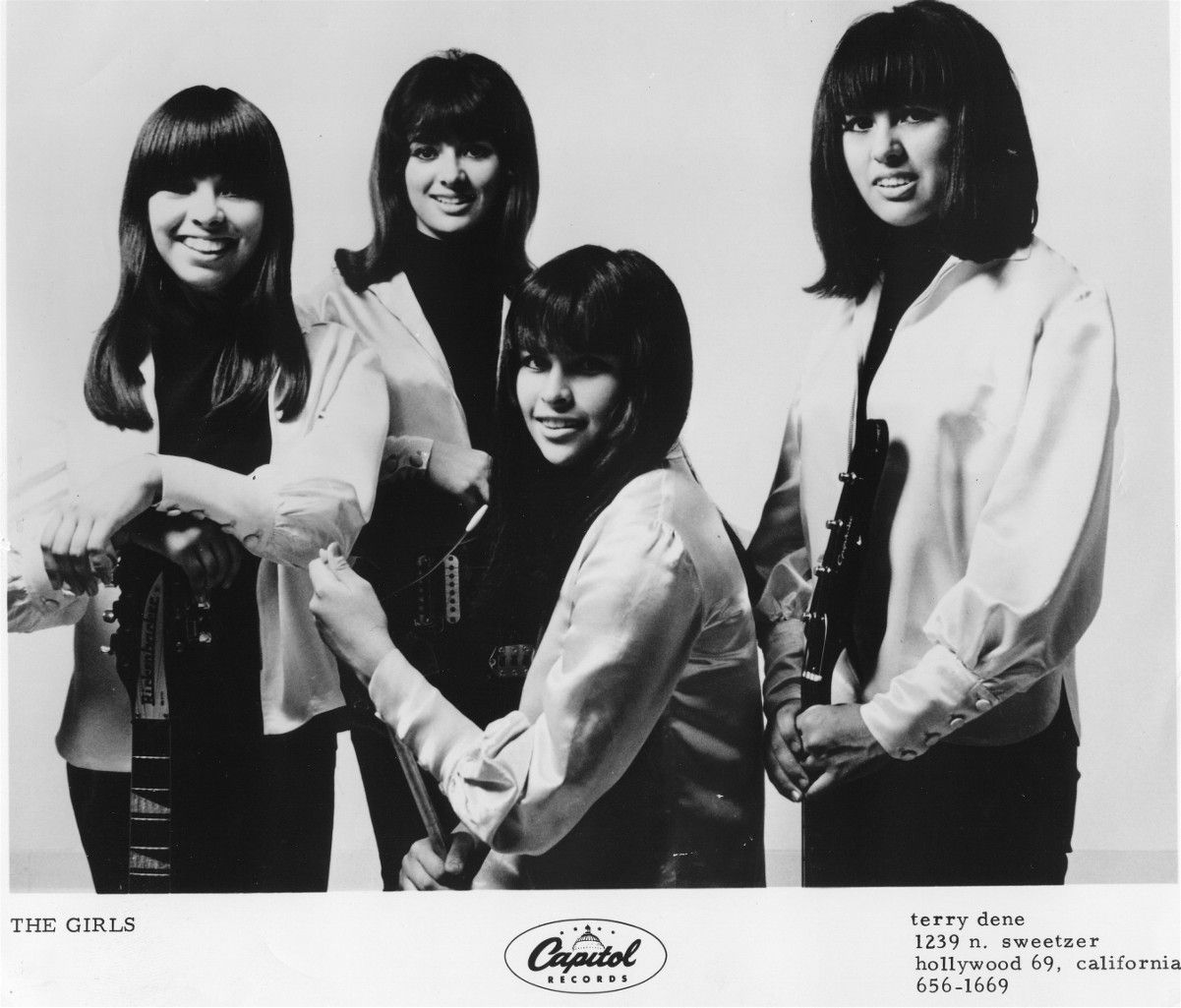 Recently I purchased a killer girl-garage 45 by Los Angeles' group The Girls,